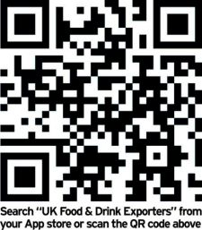 Download the Food and Drink Exporter's App for free